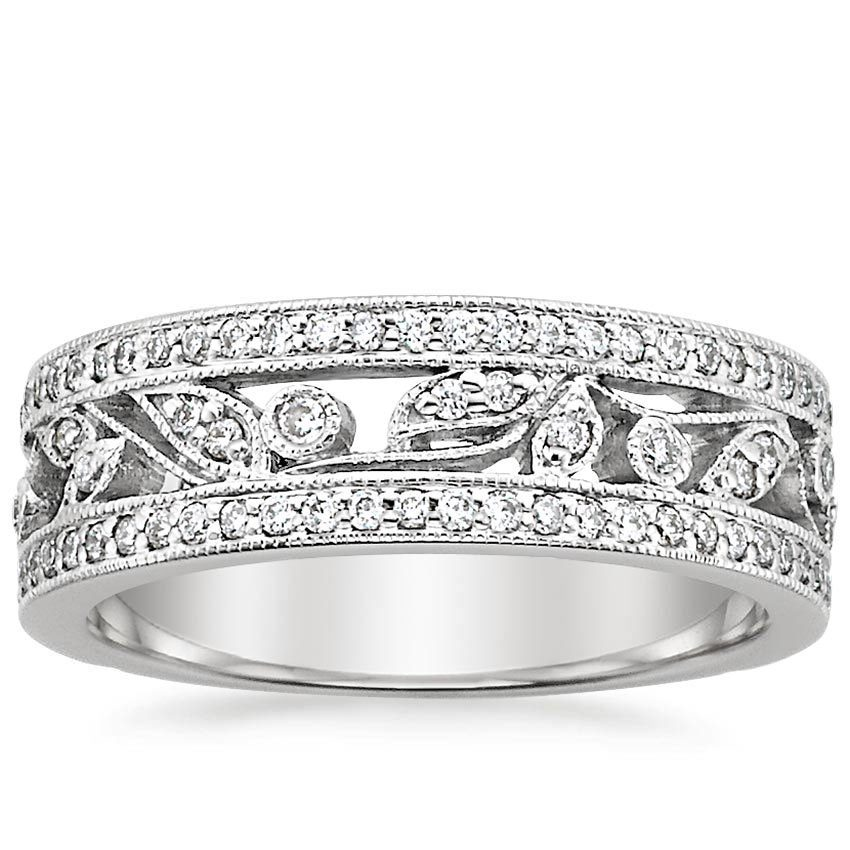 shop now flora ring - Stackable Wedding Rings