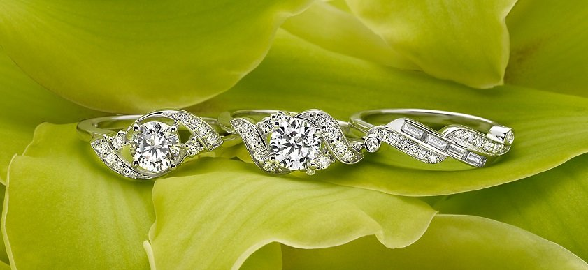 Green Engagement Rings