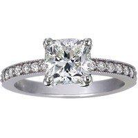 Dazzling Cushion Cut Engagement Rings | Brilliant Earth