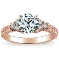 Adorned Trio Diamond Ring