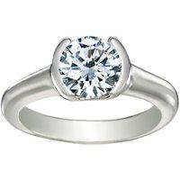 Petite Semi Bezel Ring
