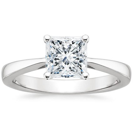 shop now · Princess Cut Engagement Ring