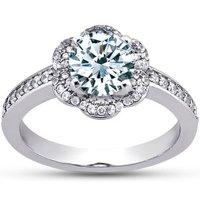 Rosette Diamond Ring