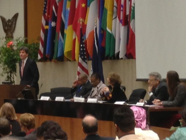 Assistant Secretary of State Jose Fernandez at KP Plenary