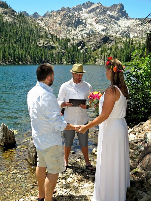 Beautiful Lake Proposal