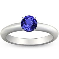 Comfort Fit Sapphire Ring
