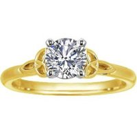 Yellow Gold Celtic Love Knot Ring