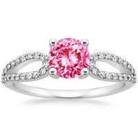 Pink Sapphire Lumiere Ring