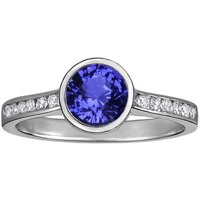 Sapphire Luxe Luna Diamond Ring