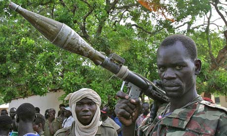 Rebel soldier in the Central African Republic