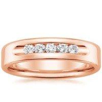 14K Rose Gold Denali Ring