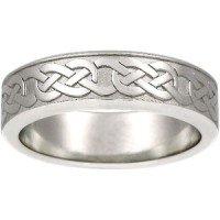 Platinum Celtic Eternity Knot Ring