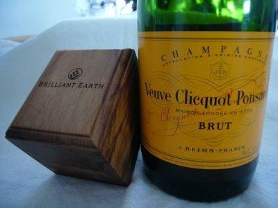 Champagne Proposal