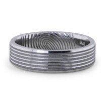 Fingerprint Trailblazer Ring