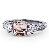 Three Stone Heirloom Sapphire Ring