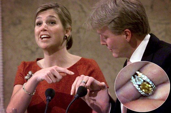 Princess Maxima Engagement Ring