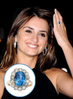 Penelope Cruz Engagement Ring