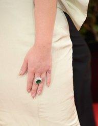 Kelly Osbourne emerald ring
