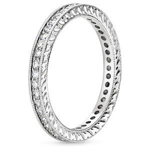 Beyond Eternity Pave Diamond Ring