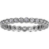 Eclipse Eternity Diamond Ring