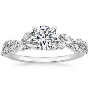 Luxe Willow Diamond Ring