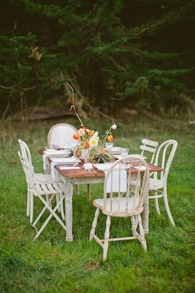 One True Love Vintage Rentals Table Setting