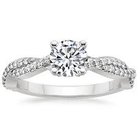 Luxury Engagement Rings: Twisted Vine