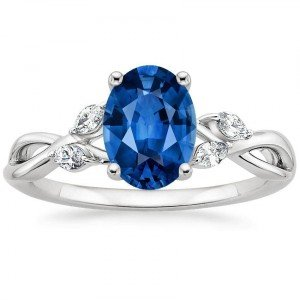 sapphire willow oval