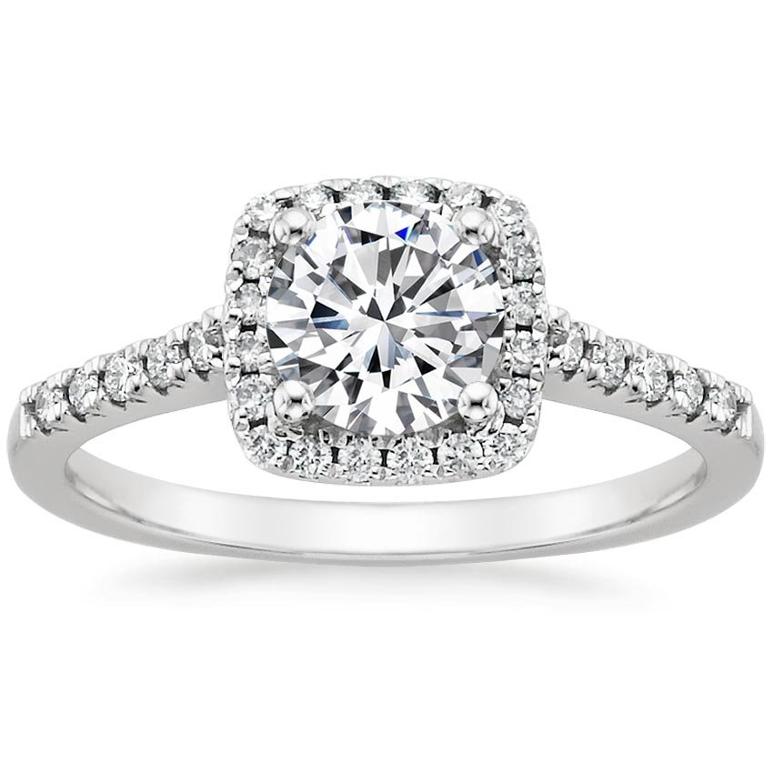Sonora Pave Halo Ring