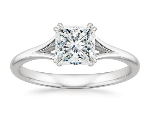 history of princess cut engagement rings - Wedding Ring Princess Cut