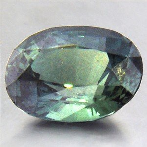 Deep LIchen Green! 10.7x8mm Unheated Green Oval Sapphire