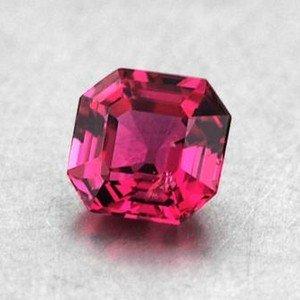 Vivacious! 4mm Pink Asscher Sapphire