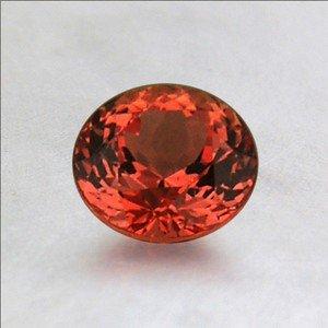 Koi! 5.8mm Orange Round Sapphire