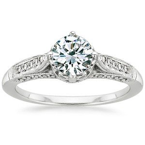 Antique-Style Engagement Rings