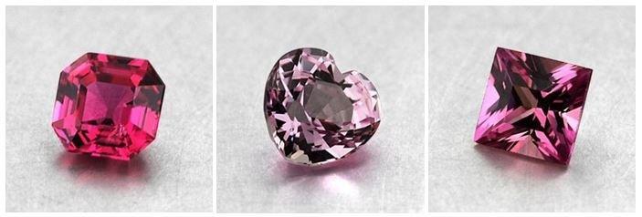Pink Sapphire Colored Gemstones