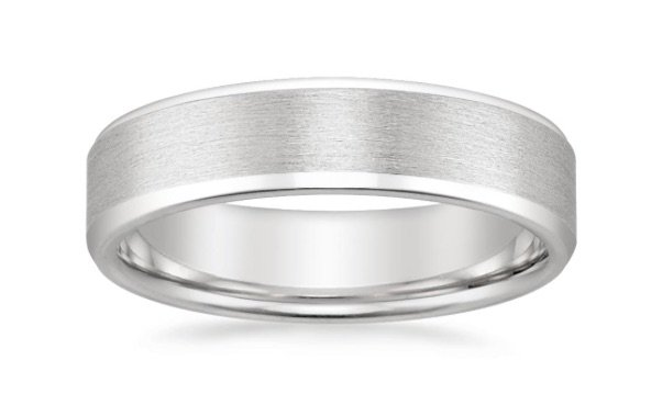 Boston Men's Wedding Band