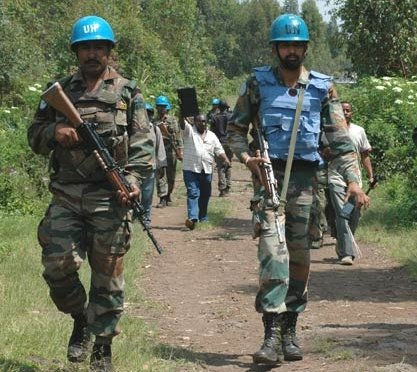 UN soldiers in Congo