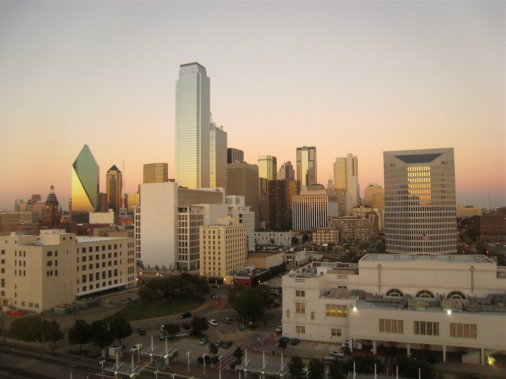 Dallas Skyline by Benjamin Esham