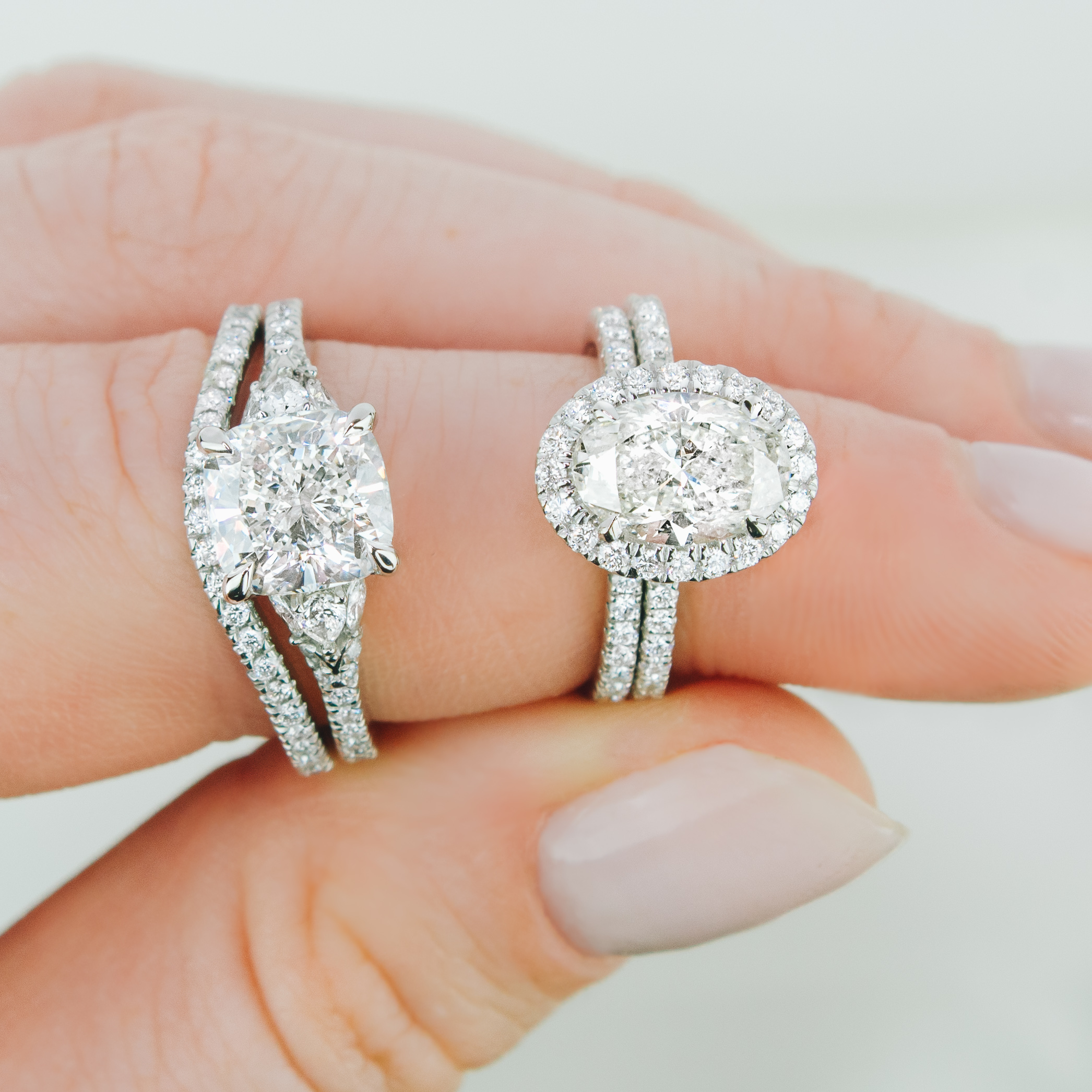 Unique Engagement Rings With Side Stones