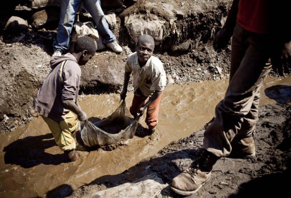 child laborers in Congo