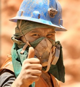 Fairmined gold miner