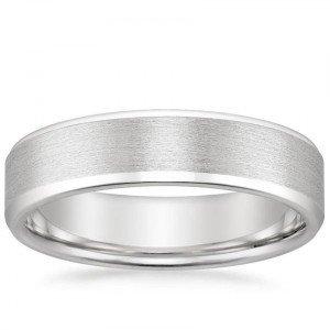 beleved edge matte ring