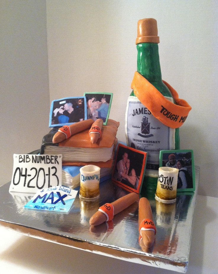 Groom's Cake by Confectionary Therapy 2