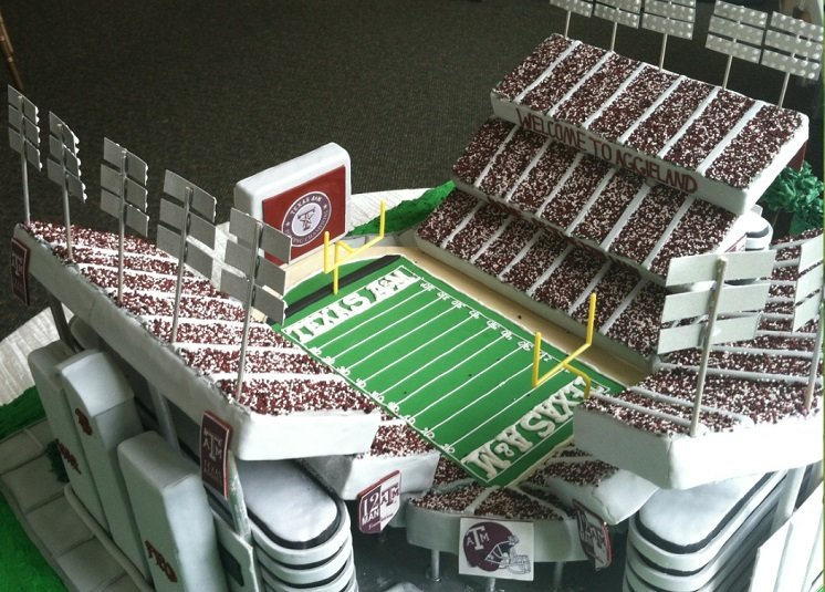 Kyle Field Groomscake