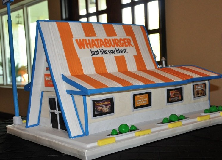 Whataburger Groomscake 2