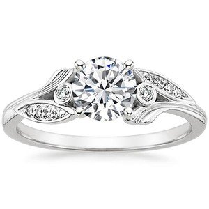 unique engagement and wedding rings