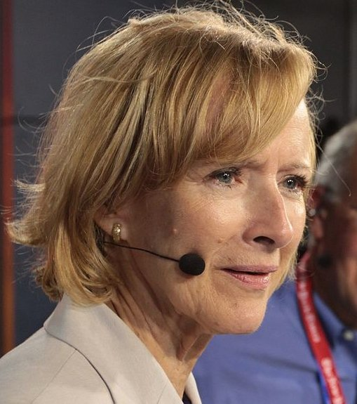 PBS NewHour anchor Judy Woodruff