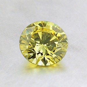 lab-created yellow diamond