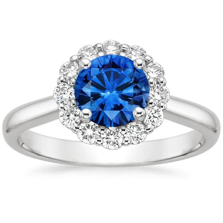 Sapphire-Lotus-Flower-Diamond-Ring