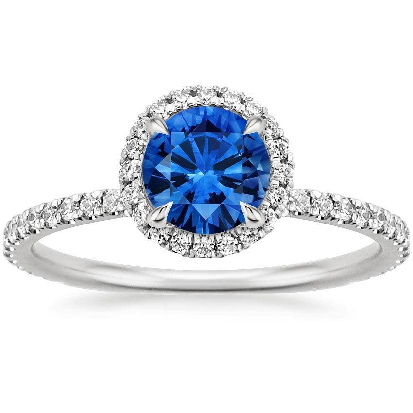Non-Diamond Engagement Rings | Brilliant Earth